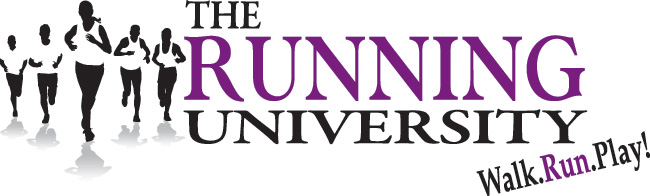 The Running University Logo